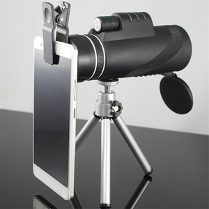 Image 2 - Monocular 40x60 Zoom HD Professional Binoculars Telescope night vision Military Spyglass with Phone Holder Tripod Hunting Turizm