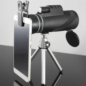 Image 2 - Monokulare 40x60 Zoom HD Professionelle Fernglas Teleskop nachtsicht Military Spyglass mit Telefon Halter Stativ Jagd Turizm