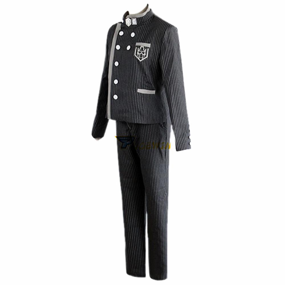 Anime Danganronpa V3 Shuichi Saihara Cosplay Costume with Hat in Anime Costumes from Novelty Special Use