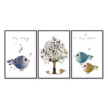 Factory wholesale (No Framed) Animal series poster Canvas Print On Printing Wall Pictures 12YM-A-655