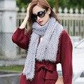 Шарф женщины Шарфы зимняя Мода шерсть классический Vintage Одеяло Шарф Вязаные шарфы Хлопчатобумажные Горячие Девушки Леди