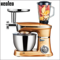Xeoleo 6 5L Multifunction Food Mixer 1300W Stand Mixer Dough Kneading Machine With Meat Grinder Juicer