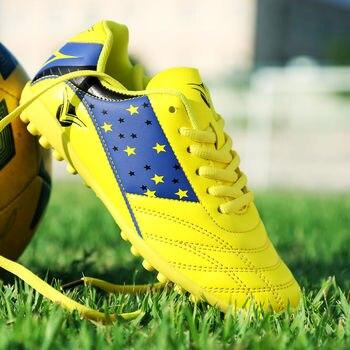Toursh Zapatillas de soccer fútbol Botas hombres Superfly fútbol barato  Zapatos venta niños tacos interior Zapatillas de Soccer Superfly chuteira 2c46669ab246d