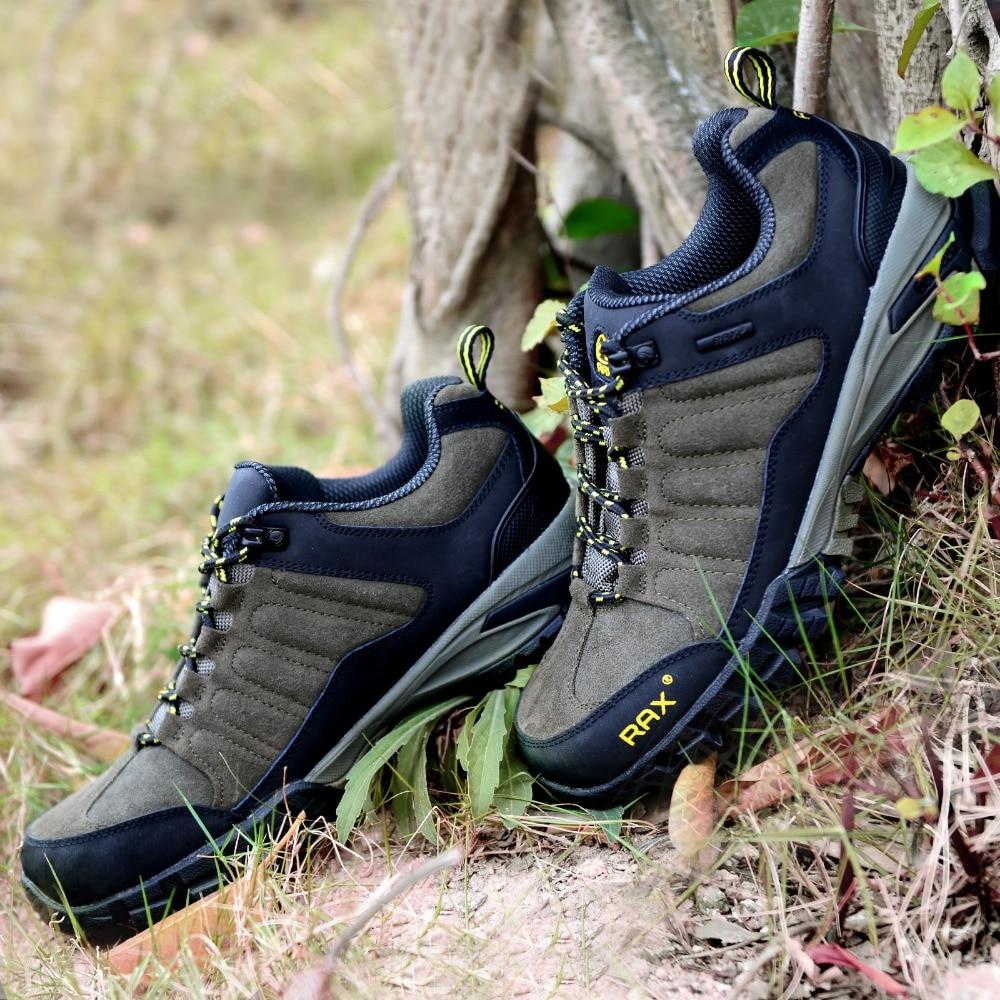 Rax Men Waterproof Warm Hiking Shoes Women Outdoor Shoes Mountaineering Climbing Hunting Shoes Men Toe Protection Non Slip Shoes