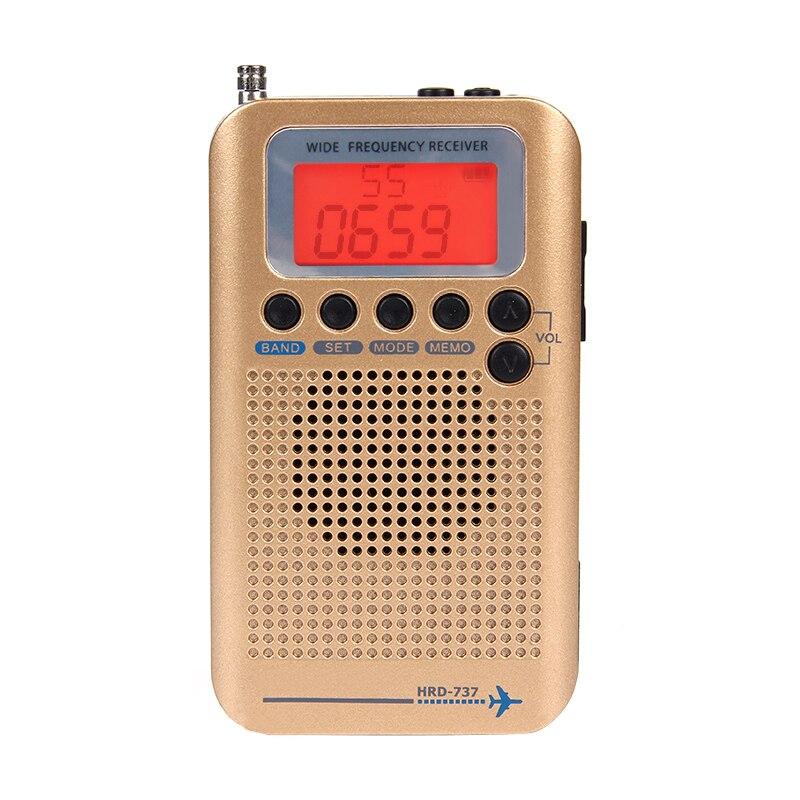 Zuversichtlich Volle Band Radio Digital Demodulator Fm/am/sw/cb/air/vhf Welt Band Stereo Tragbare Radio Mit Lcd Display Alarm Uhr Ausgezeichnet Im Kisseneffekt Tragbares Audio & Video