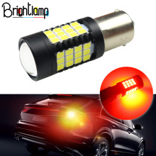 Brightlamp 2PCS led brake light  1157 bay15d P21/5W 54SMD2835 12-24V bulb