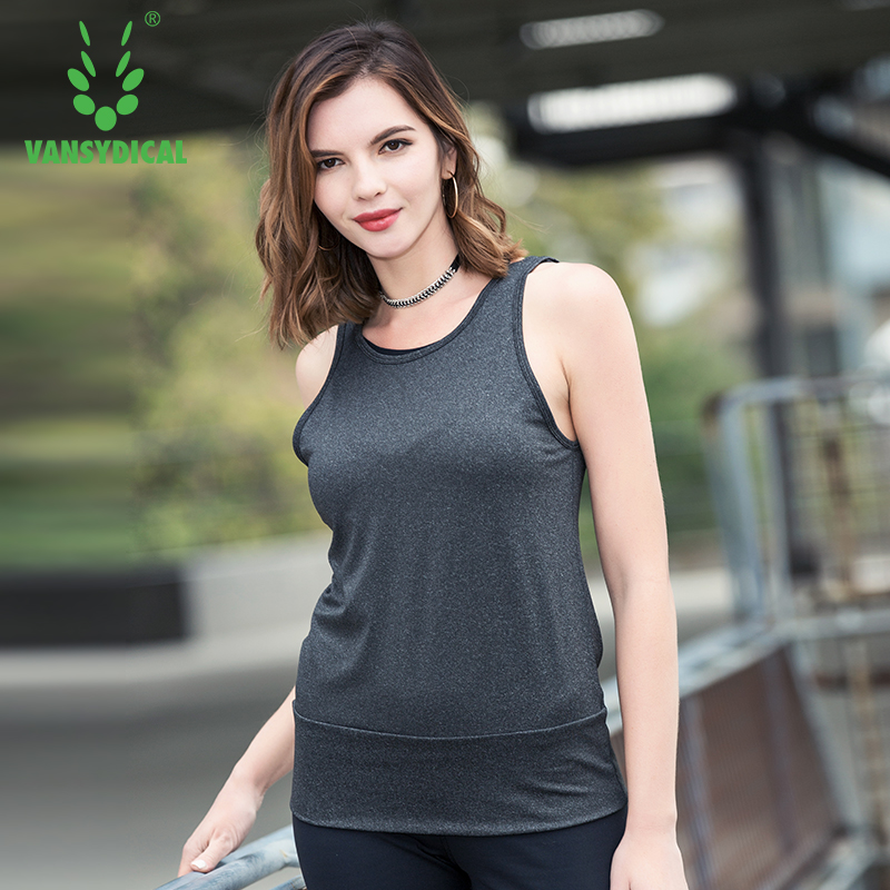 2018 Woman's Running Vest Sleeveless Yoga Tank Top Quick Dry Sports
