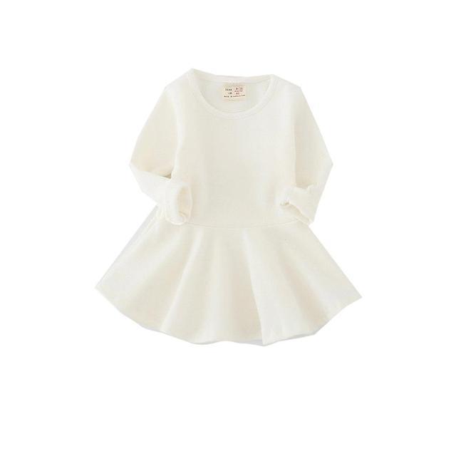 Kids Baby Dress Long Sleeve...