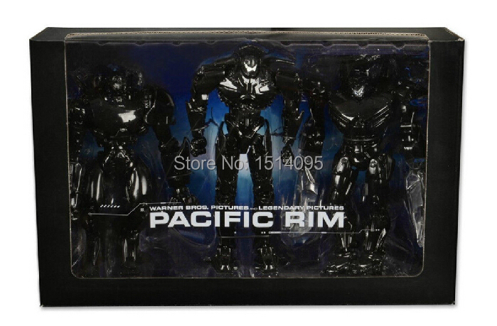 7 18CM NECA Pacific Rim End Titles Jaeger 3-pack PVC Action Figure Collectible Toy WF020 neca a nightmare on elm street 2 freddy s revenge 3 dream warrior freddy krueger pvc action figure collectible model toy 50cm
