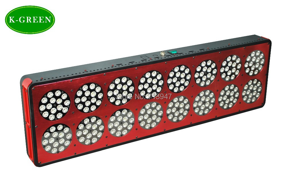 1X high quality 720W apollo LED plant grow light express free shipping free shipping by china post air mail 75w led plant grow light 3w high quality 3years warranty dropshipping