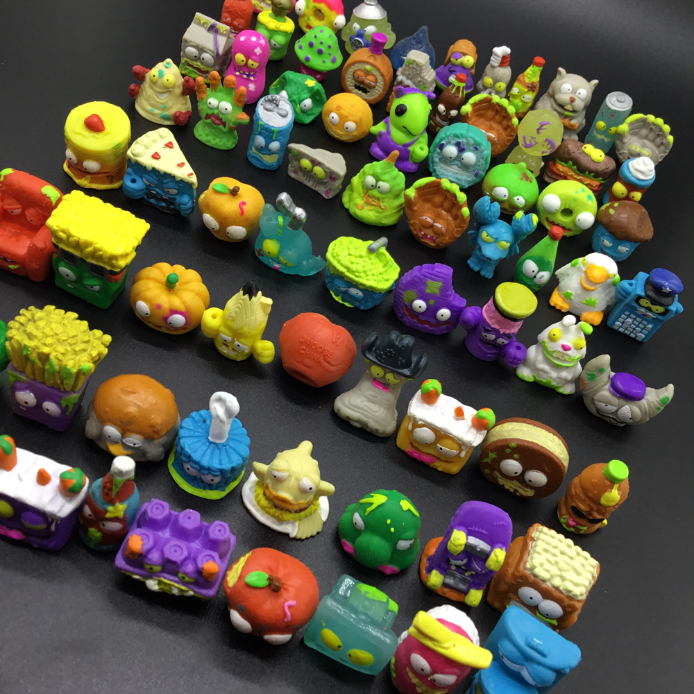 3-20 PCS Popular Cartoon Anime Action Figures Toys HOT Garbage Moose The Grossery Gang Model Toy Dolls Kids Christmas Gift