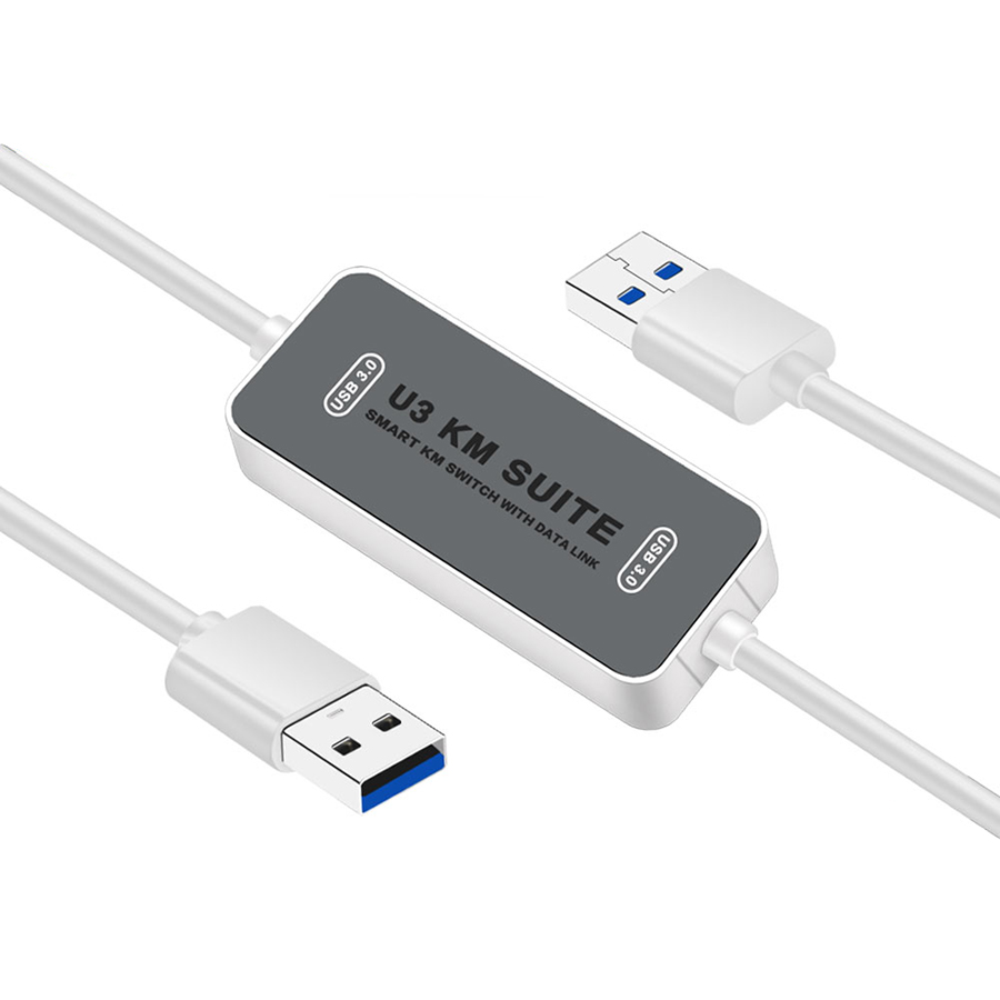 USB Switcher for Mac PC File Data Transfer Share Sync Link Cable KM Mouse Switch