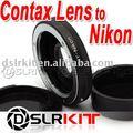 Anel Adaptador de lente para Contax Lente para NIKON D-SLR Adaptador de Montagem foco Infinito