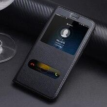 Huawei Honor 8 Pro чехол Роскошный старинный Натуральная кожа флип чехол для Huawei Honor V9 Вид из окна стенд телефона Coque