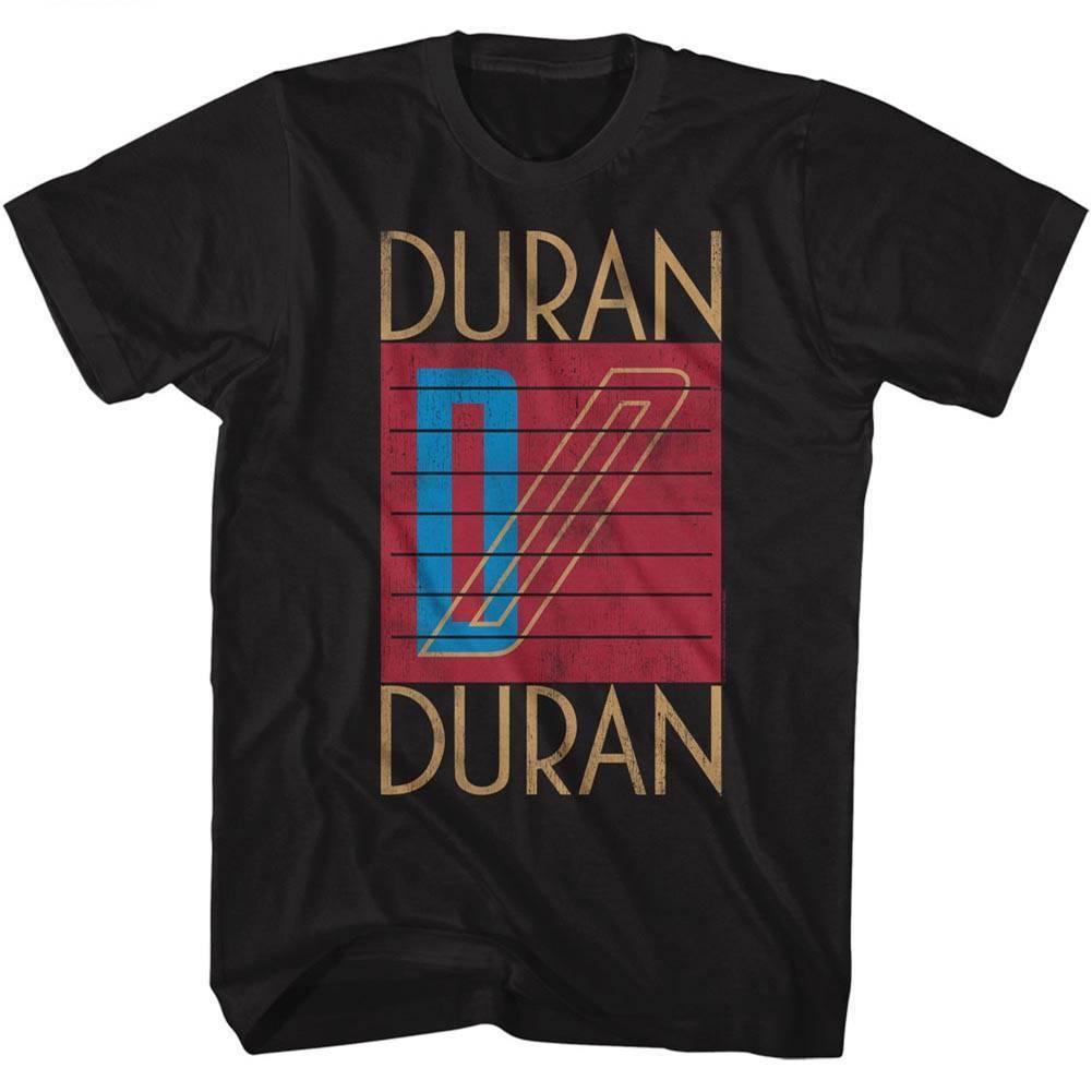 DURAN DURAN Men's Short Sleeve   T  -  Shirt   BLACK LOGO Cool Casual pride   t     shirt   men Unisex New Fashion tshirt free shipping tops