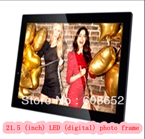21.5 (inch) LED (digital) photo frame 21.5 inch multi-functional Haier digital cameras, photographic equipment Photo Frame