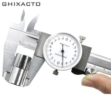 цена на Shock-proof Dial Caliper Metric Gauge Measuring Tool Dial Caliper 0-150mm/0.02mm Stainless Steel Precision Vernier Caliper tools
