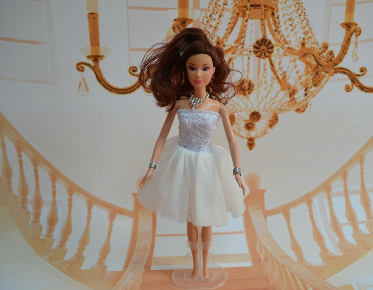 Genuine Authentic Case For Barbie Doll Clothes Wedding