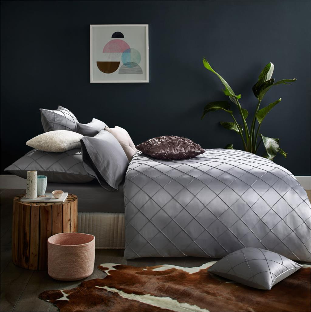 Handmade bed sheets design - 4pcs Bedding Set High Grade Cotton Bed Linen Washed Silk Quilt French Handmade Diamond Bed