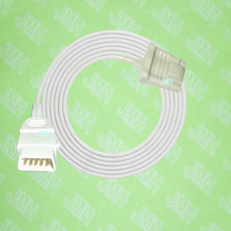 Compatible with CI 3300,3301,3302, 3303,3401 Pulse Oximeter monitor, Adult silicone soft tip spo2 sensor,DB 9PIN.Compatible with CI 3300,3301,3302, 3303,3401 Pulse Oximeter monitor, Adult silicone soft tip spo2 sensor,DB 9PIN.