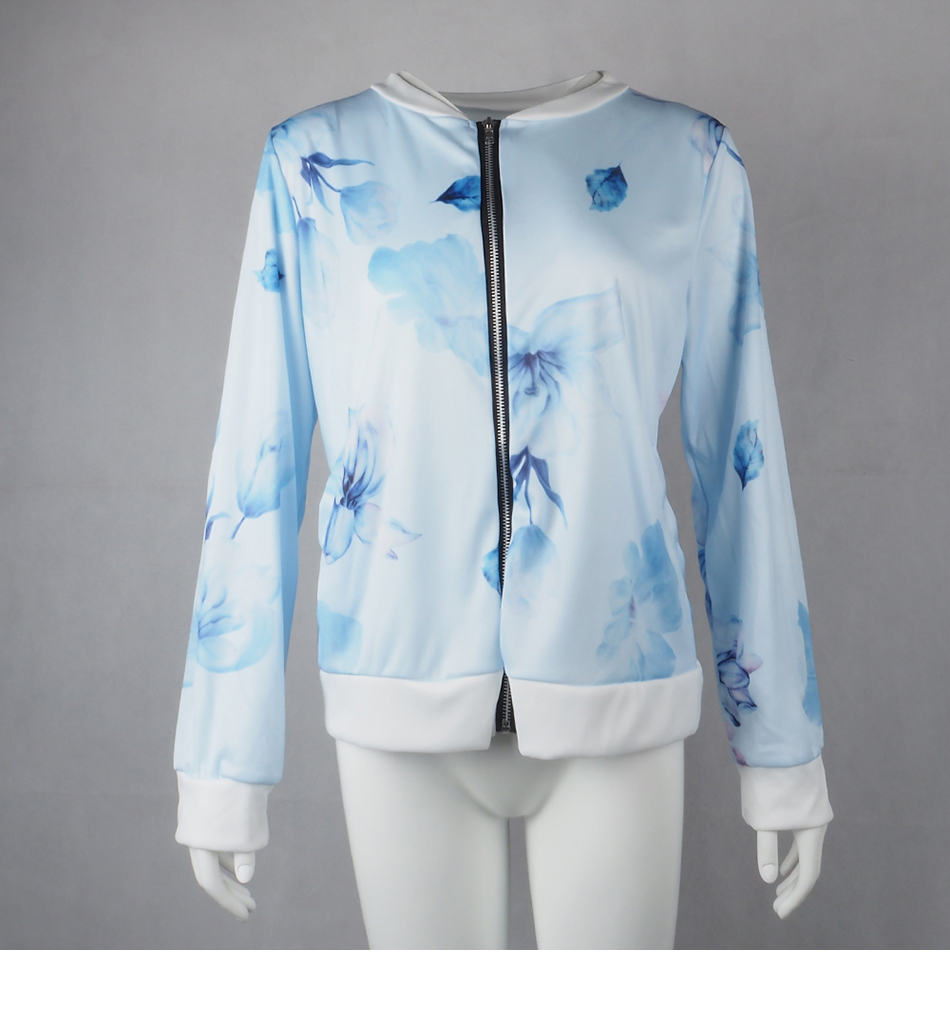HTB1q1dSUmzqK1RjSZFjq6zlCFXaS Plus Size Printed Bomber Jacket Women Pockets Zipper Long Sleeve Coat Female Flower Chiffon White Jacket Woman Spring 2019