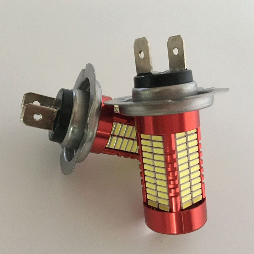 Satu Set H7 LED H11 9005 9006 Mobil Fog Light Bulb 6500 k Putih Lampu - Lampu mobil - Foto 4