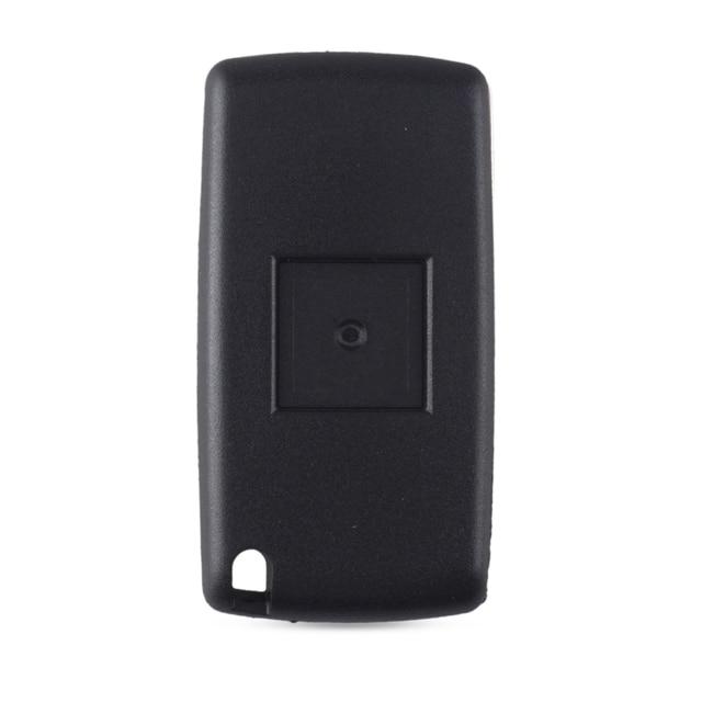 KEYYOU 3 boutons à distance rabattable clé coquille étui Fob pour Peugeot 307 407 308 607 Fob CE0523 HU83 lame voiture clé étui