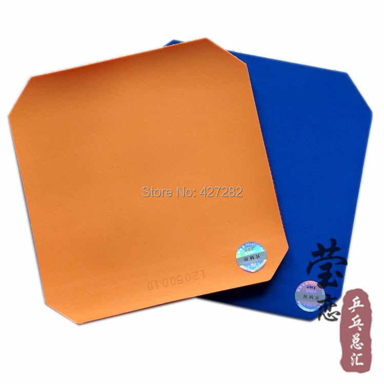 Original DHS C7(C-7) Table Tennis Rubber with sponge long pimples table tennis rackets defense racquet sports ping pong rubber
