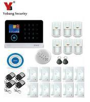 Yobang безопасности Wi Fi 3G RFID Беспроводной Умный дом Охранной Сигнализации Системы 3G сигнализации приложения Управление с движения PIR Сенсор ды
