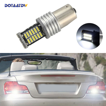 1x Car 1156 BA15S LED 360 degree backup reverse light lamp Bulbs For BMW E30 E36 E46 F30 image