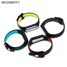 For Xiaomi Mi Band 2 Bracelet Silicone Strap Colorful Wristband Replacement SmartBand Accessories Hot Sale