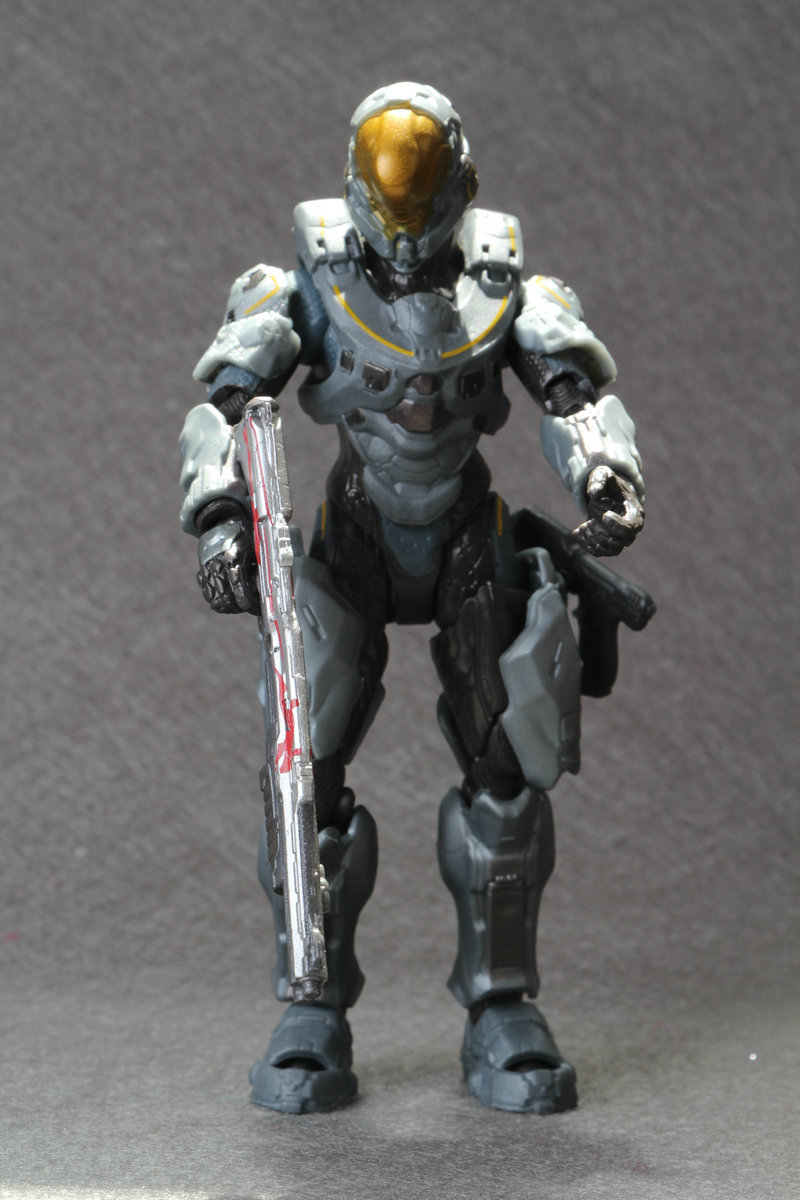 <font><b>Halo</b></font> <font><b>5</b></font>: Guardians Series 1 Spartan Kelly Action Figure loose no pack Conllection <font><b>Toys</b></font> image