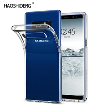 цена на Case For Samsung Galaxy Note 8 TPU Silicon Durable Clear Transparent Soft Case for Samsung Note 8 N950F protective Back Cover