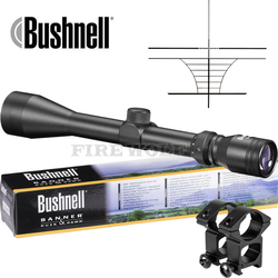 BUSHNELL 3-9X40 Riflescope Adjustable Green Red Dot Hunting Light Tactical Scope Reticle Optical Sight Scope