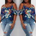Plus Size Women Summer Loose Top Short Sleeve Top Ladies  Batwing Sleeve Shirt Loose Casual Tops T-Shirt