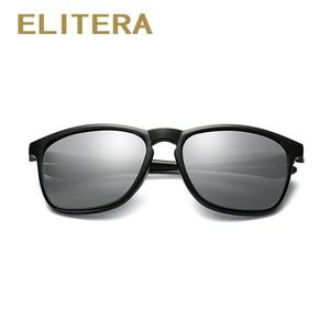Image 4 - ELITERA מותג יוניסקס רטרו משקפי שמש מקוטב עדשת בציר משקפי שמש אביזרי משקפיים לגברים/נשים