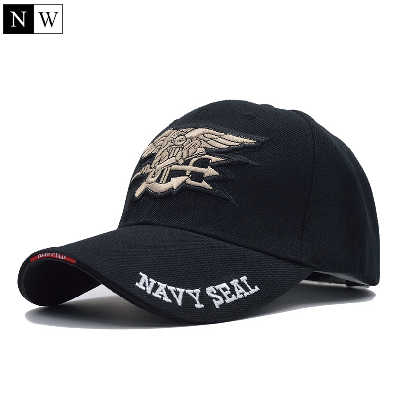 [NORTHWOOD] High Quality Mens US NAVY Baseball Cap Navy Seals Cap Tactical Army Cap Trucker Gorras Snapback Hat For Adult
