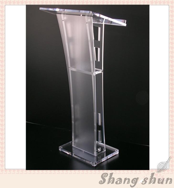 Acrylic/ Podium / Church Lectern / Plexiglass Pulpit / Plexiglass Lectern / Lucite Pulpit hot sale fre shiping customized acrylic church lectern pulpit lectern podium cheap church podium