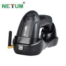 NETUM Handheld Wireless CCD Barcode Scanner 32 Bit Einfach Lade 2,4G Cordless Bar code Reader für POS und Inventar NT H2