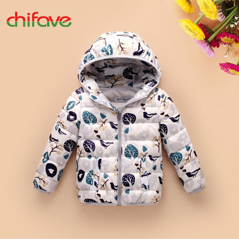 2017chifave New Winter Duck Down Jackets Girls Boys Kids Clothes Baby Boys Girls Coat Winter Outwear Jacket Hooded Parka Fashion chifave winter warm kids boys jacket cotton baby boys coat hooded outwear children clothing print toddler boys jackets fashion