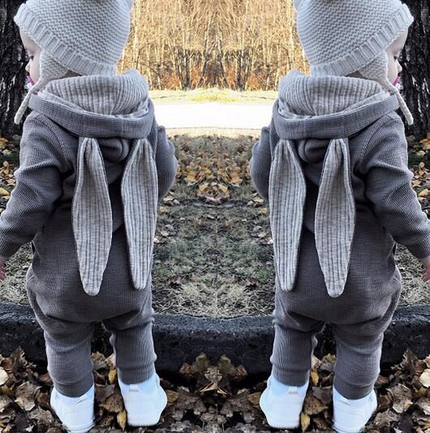 HTB1q1hiaUD1gK0jSZFGq6zd3FXaC New Spring Autumn Baby Rompers Cute Cartoon Rabbit Infant Girl Boy Jumpers Kids Baby Outfits Clothes