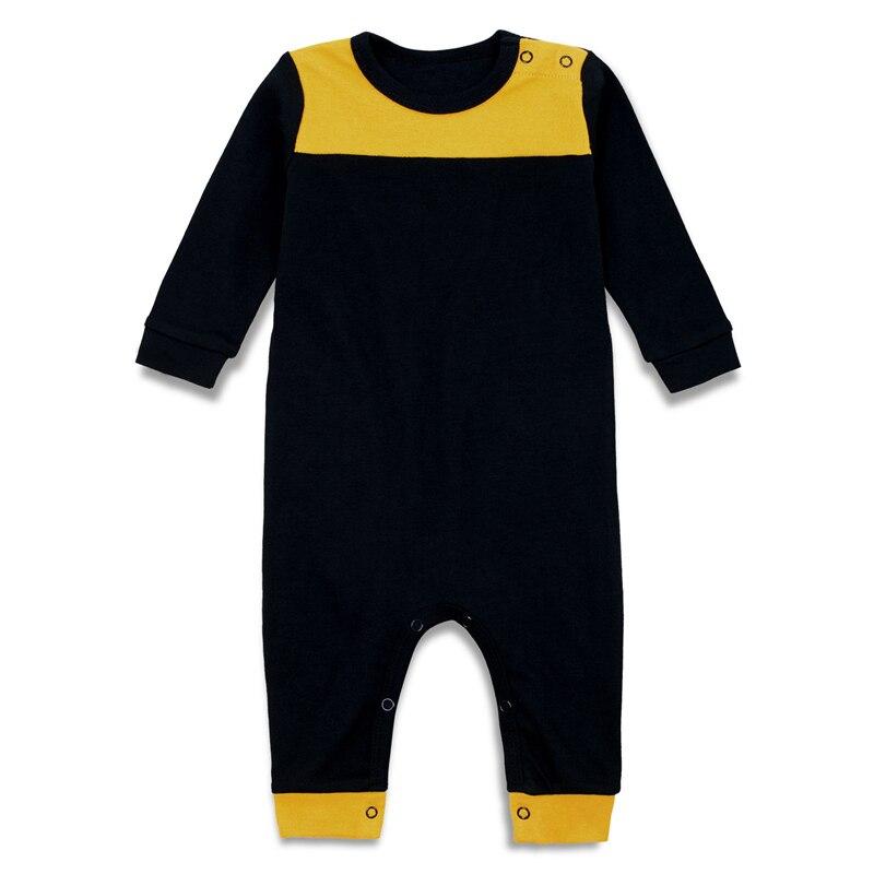 Newborn Baby Romper Infant Girls Boys Pajamas Long Sleeve ...
