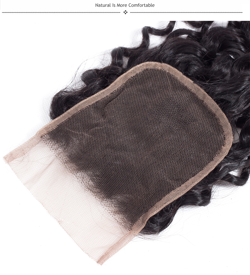kinky curly hair with closure
