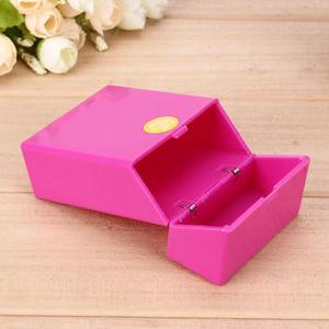10*6*3cm Fashion Portable Plastic Cigars Cigarette Case Pocket Box Smoke Storage Holder Smoking Accessories Hold 20 Cigarettes(China)