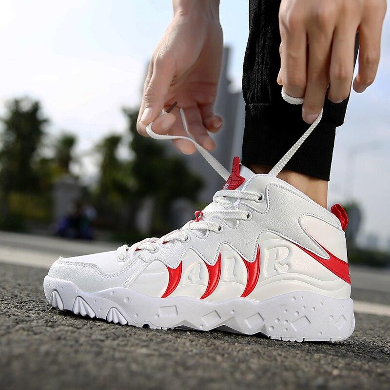 Red Masculinos white Desodorante Sapatos Jovens White Estudantes Dos Homens Respirável black Em Primavera Ginasiais Execução Black Esportes Menino Casuais TRq1TZ