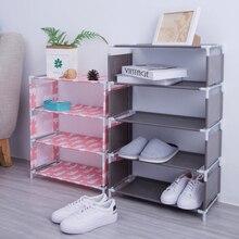 Большой размер нетканый Тканевый шкаф для обуви Органайзер для дома украшение для спальни спальня шкаф для обуви Полка Шкаф дропшиппинг