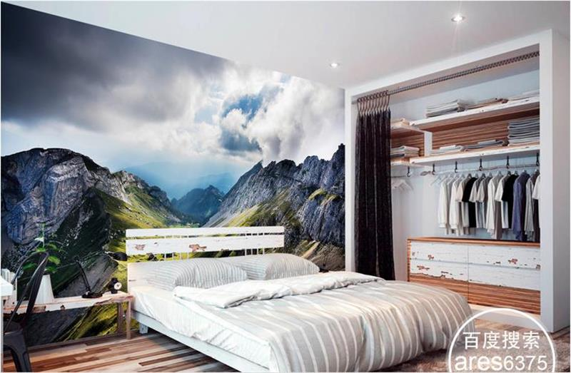 3d room wallpaper custom mural photo Pilatus mountain landscape painting picture 3d wall non-woven murals wallpaper for walls 3d