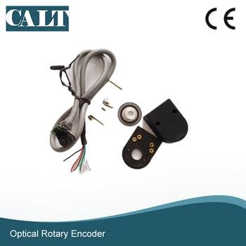 free shipping mini optical rotary encoder disk 6mm 8mm shaft A B phase signal modular encoder PD30 flora lj 320k printer encoder raster b