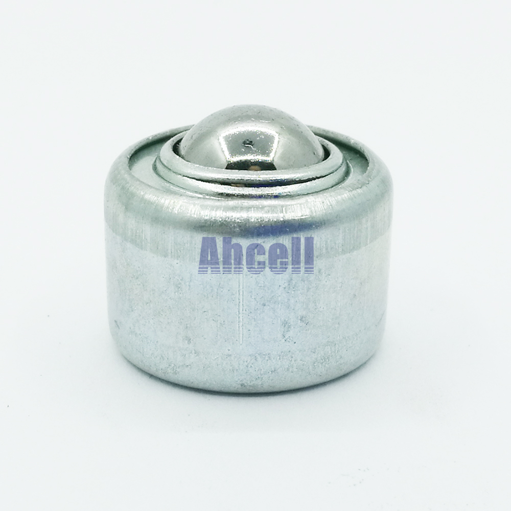 CY-12T BCHW20 Ball Bearing 7 Kgs Compressed Spring Shock Load CY12T Ball Transfer Unit Formed Steel Caster Press Fit Ball Roller