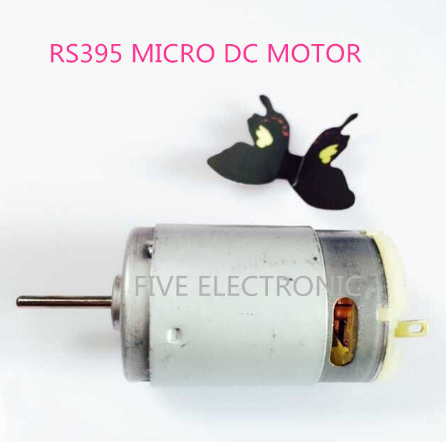 RS395 Carbon-brush 395 DC MOTOR,RS-395, Use for Hair Dryer/ electric screw driver/DIY MODEL/Electronic Toys image